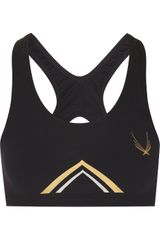 Lucas Hugh Dial Stretch Sports Bra - Lyst
