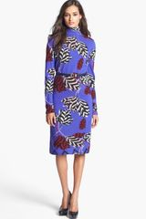 Marc By Marc Jacobs Mareika Tulip Belted Sweater Dress - Lyst