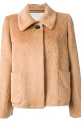 Marc Jacobs Marc Jacobs Short Fur Coat - Lyst