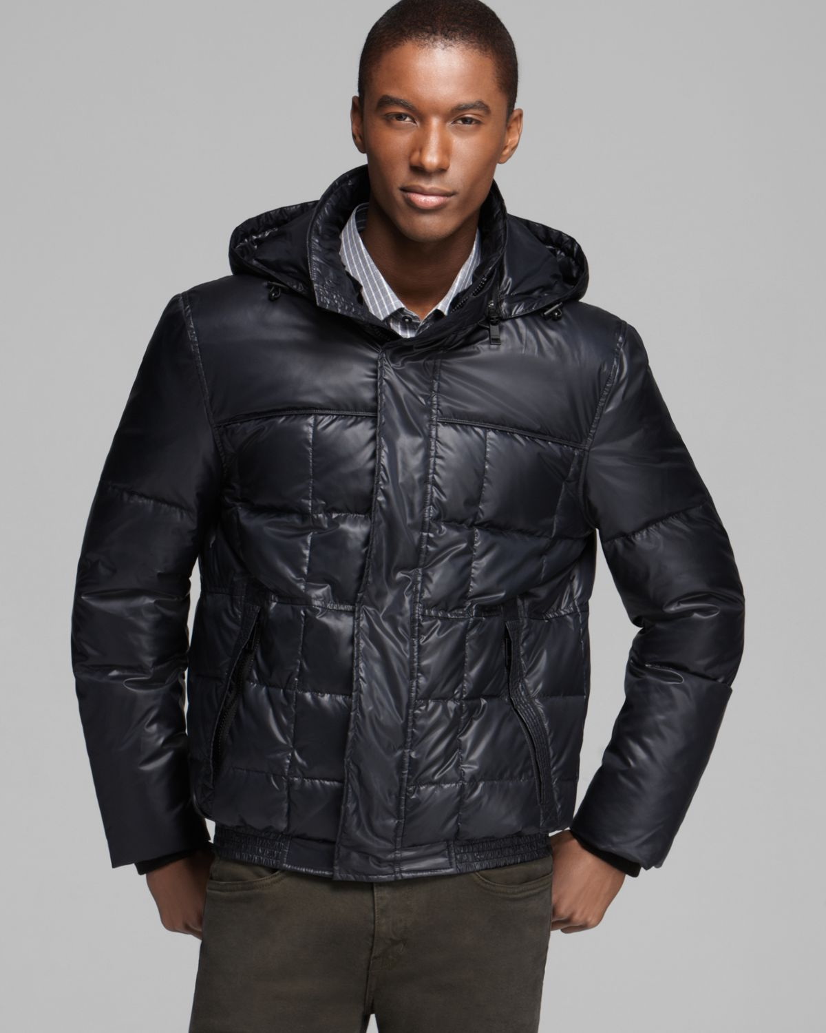 Lyst Marc New York Dodge Quilted Bomber Jacket In Black