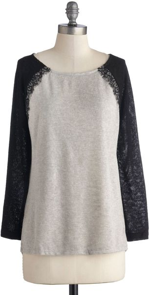 ModCloth Relaxed Luxury Sweater - Lyst
