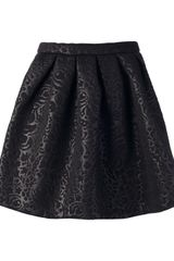 MSGM  Textured Skirt - Lyst