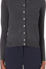 Paul Smith Black Label Contrast-collar Cardigan - Lyst