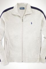 Polo Ralph Lauren Estate Fleece Track Jacket - Lyst