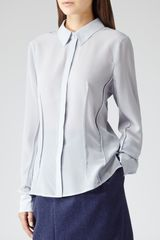 Reiss Lucia Silk Shirt - Lyst