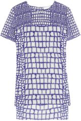 Richard Nicoll Printed Silk T-shirt - Lyst