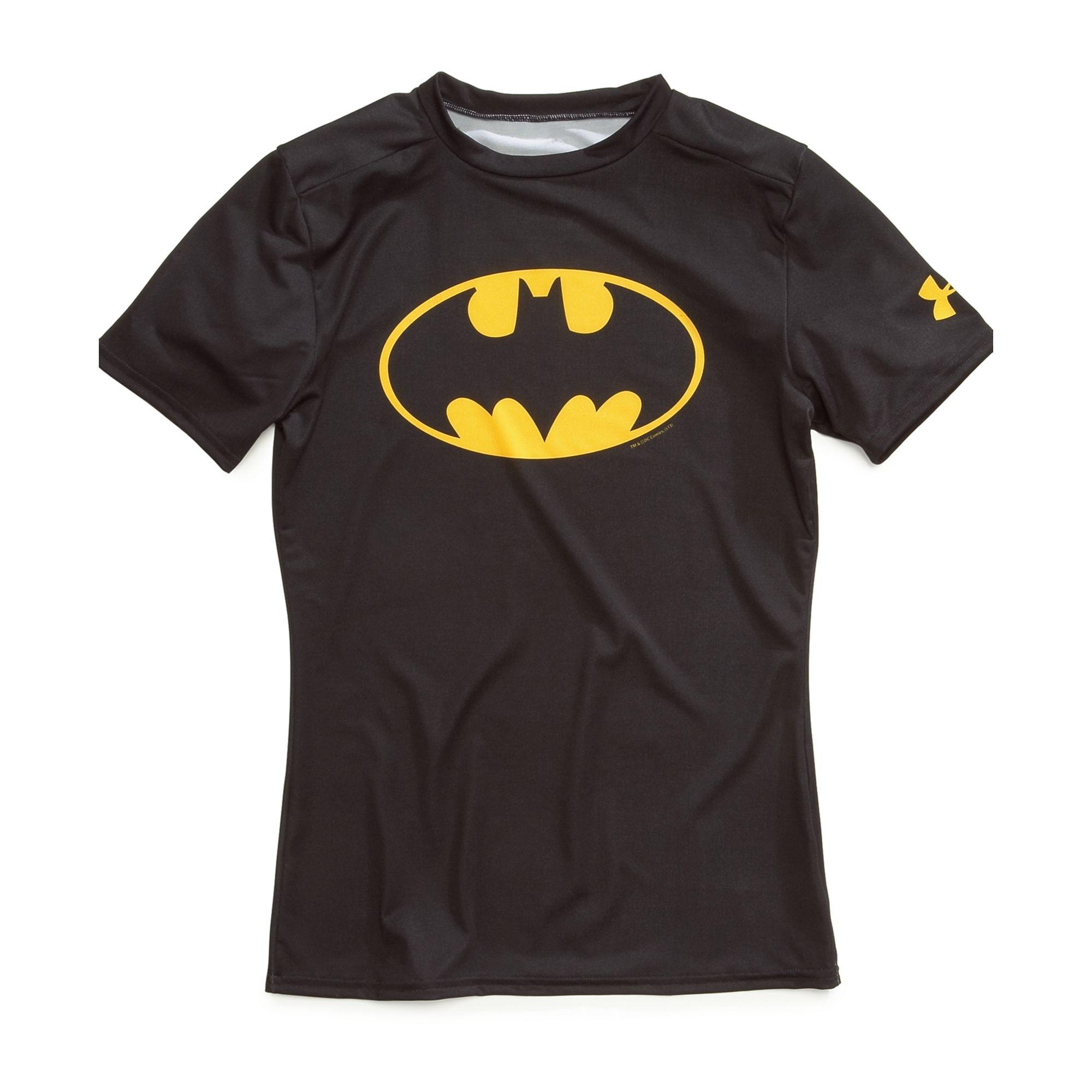 Under Armour Boys Alter Ego Batman Tee in Black for Men | Lyst