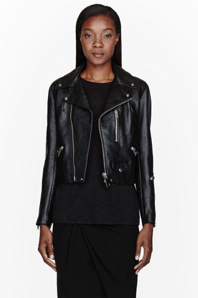 Corset Leather Jacket 77