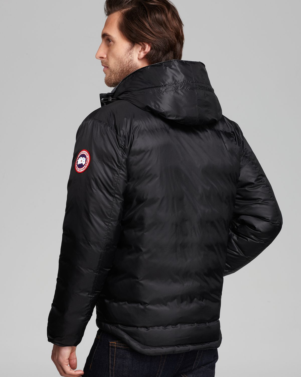 Canada Goose coats sale store - Canada goose Lodge Hooded Down Jacket in Black for Men | Lyst