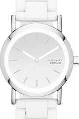 DKNY Dkny Lexington Stainless Steel and Ceramic Watch - Lyst