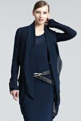 Donna Karan New York Long Cardigan - Lyst