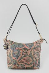 Eric Javits Barton Paisleyprint Shoulder Bag - Lyst