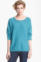 Hinge Button Back Sweater - Lyst