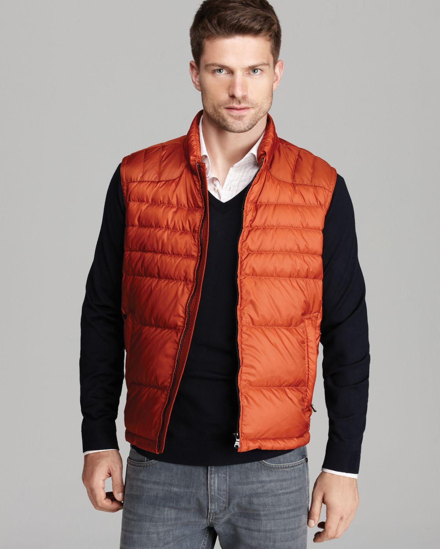 187 Hugo Boss Orange Vest