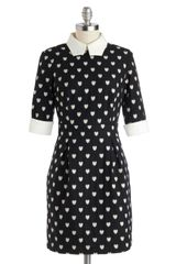 ModCloth A Lot To Love Dress - Lyst