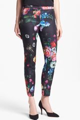Ted Baker Oil Painting Crop Trousers - Lyst