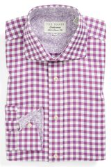 Ted Baker Trim Fit Dress Shirt - Lyst