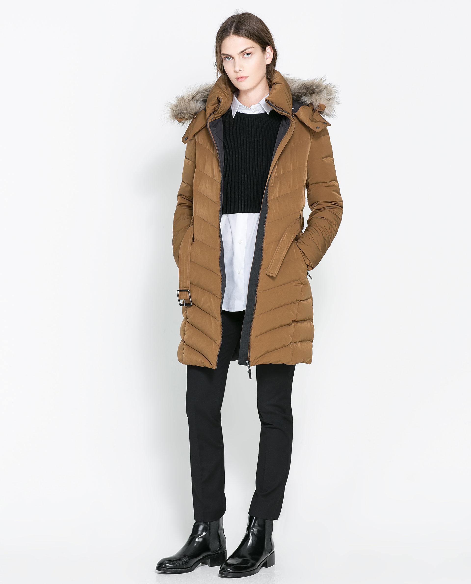 Zara Womens Winter Coats Tradingbasis