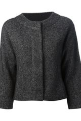 Calvin Klein Calvin Klein Collection Cropped Jacket - Lyst