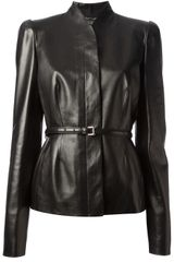 Gucci Leather Jacket - Lyst