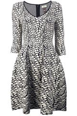 Issa Issa London Intarsia-knit Dress - Lyst