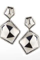 Lagos Silver Rocks Angle Drop Earrings - Lyst