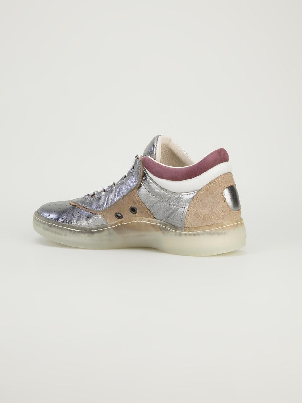 Lyst - Alexander McQueen X Puma Joust Lo Sneaker in Metallic for Men 54000f957