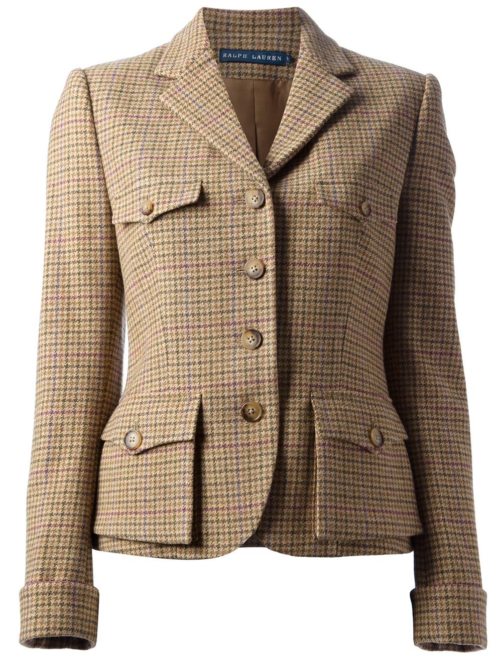 Shop Ralph Lauren Womens Black Zip Up Jacket Size: M