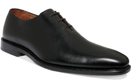 Allen Edmonds Hanover Plain Toe Shoes in Black for Men
