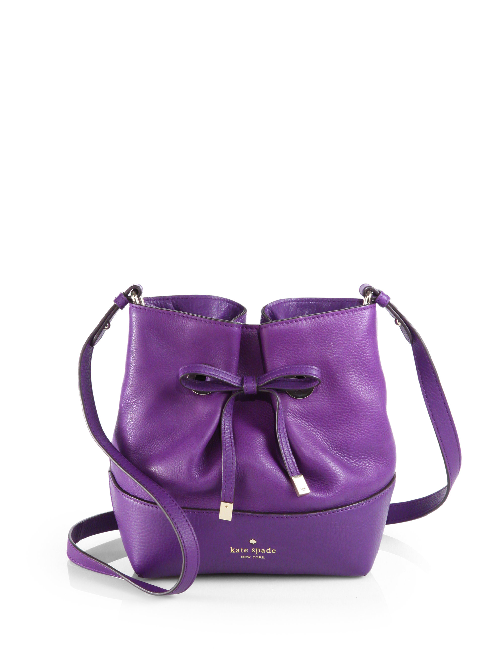 2bb6dc3b4c Lyst - Kate Spade West Valley Bow Crossbody Bag in Purple