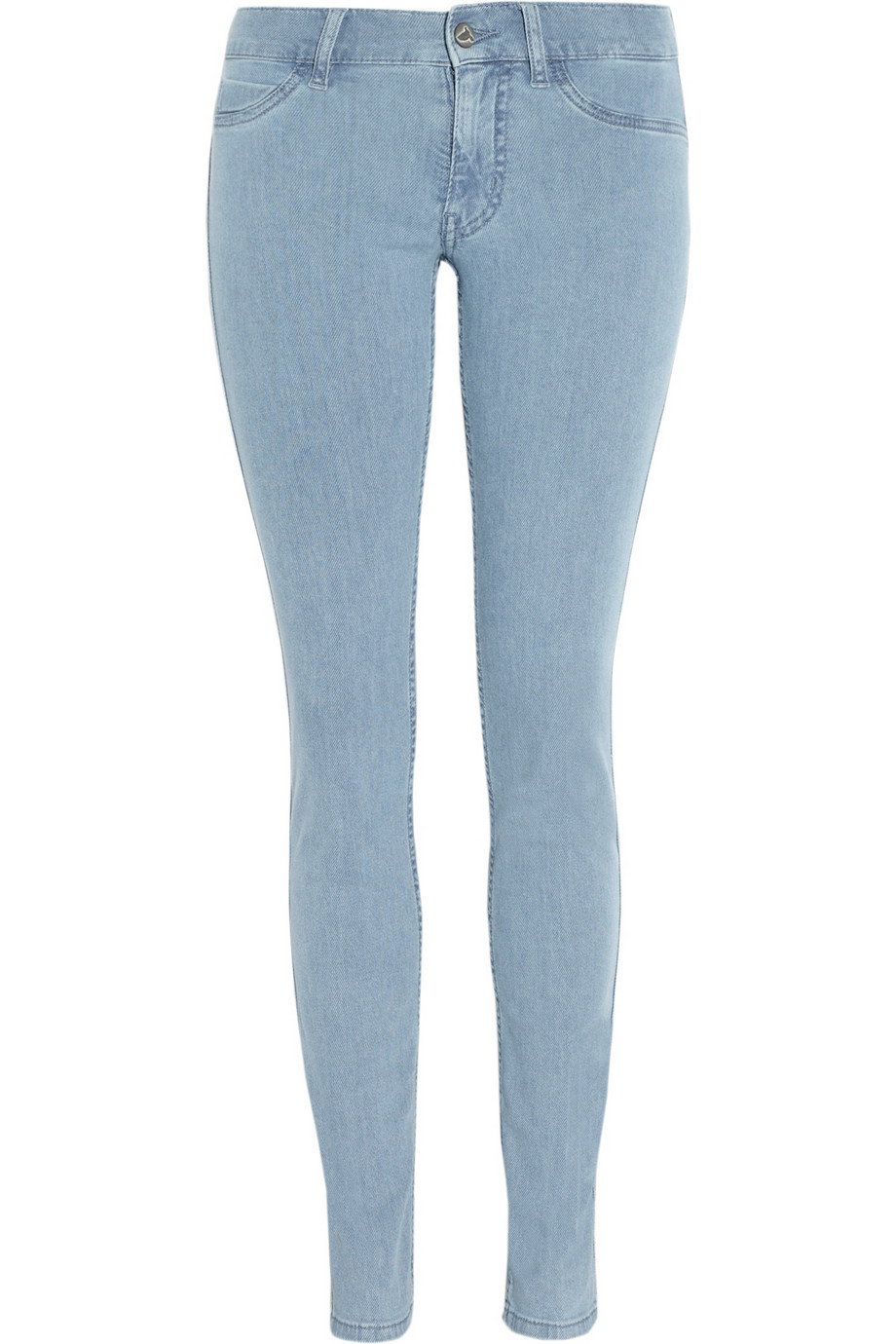 Low rise light blue skinny jeans – Global fashion jeans collection