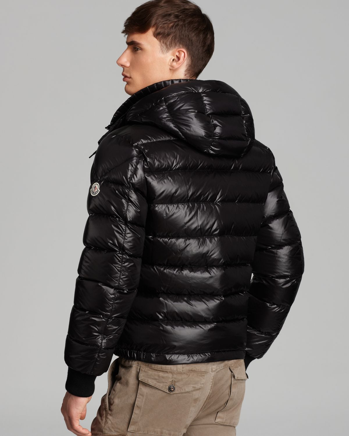 be3738801f6 czech moncler gaura shiny puffer quilted coat black 2c2ae 3baf5  australia  lyst moncler fedor shiny quilted down coat in black for men f5192 ae1bb