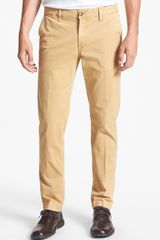 Moods Of Norway Pedar Slim Straight Stretch Pants - Lyst