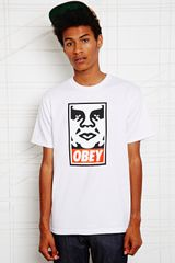Obey Icon Face Tee - Lyst
