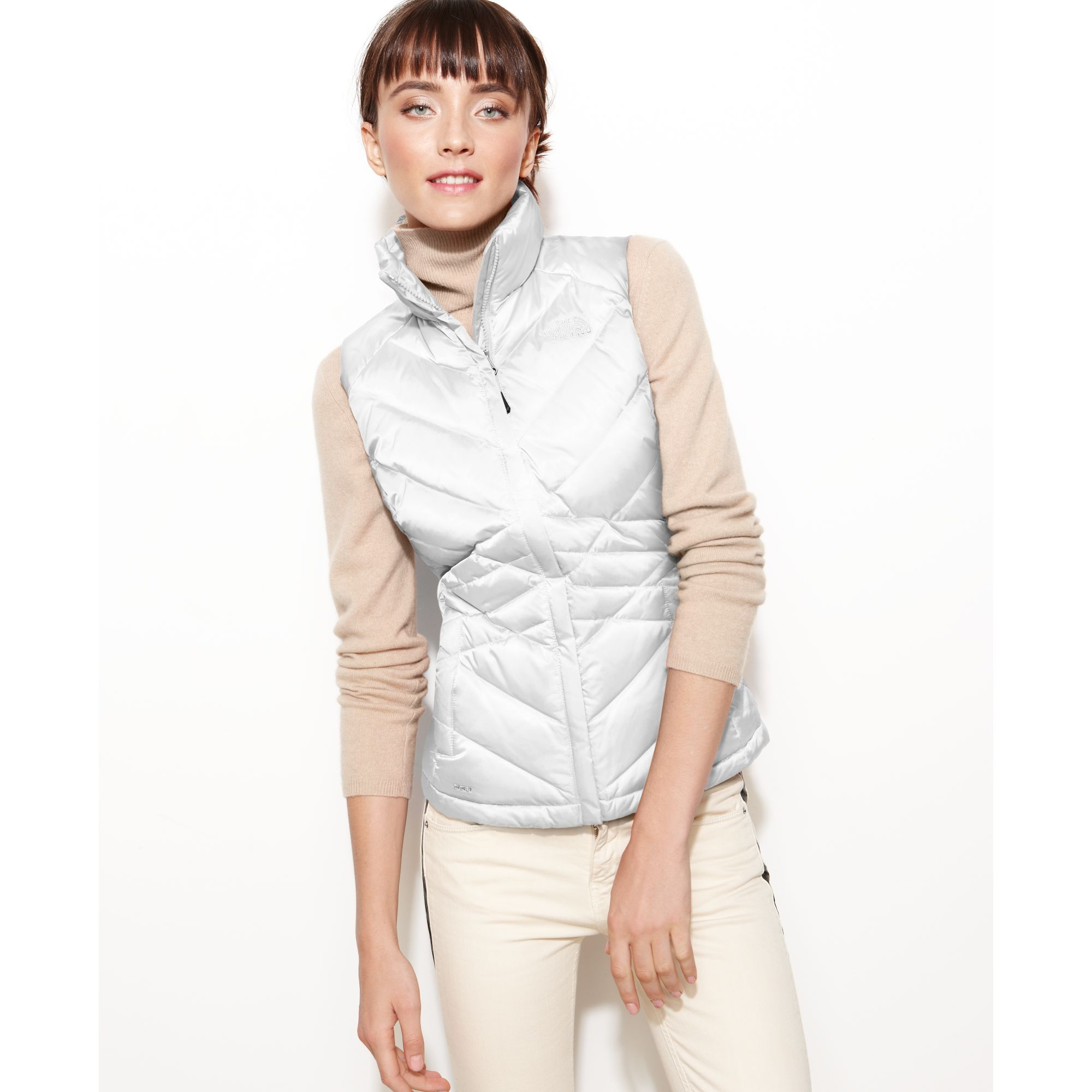 b9412ea83b38 ... where can i buy lyst the north face aconcagua quilted down puffer in  white 66e93 5cad9