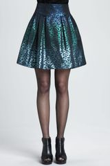 Nanette Lepore Escapade Sequined Skirt - Lyst