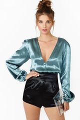 Nasty Gal Bubble Romper - Lyst