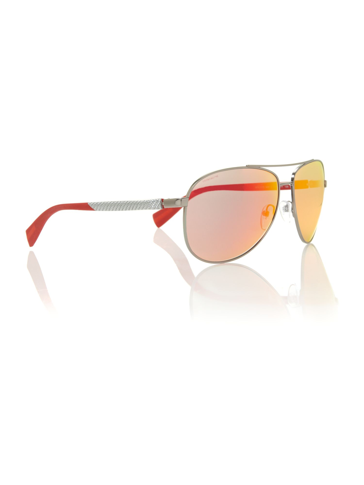 abe3bc16e50 Prada Mens Ps510s Lifestyle Sunglasses in Metallic for Men - Lyst