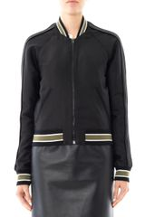 Balenciaga Sphinx Embroidered Bomber Jacket - Lyst