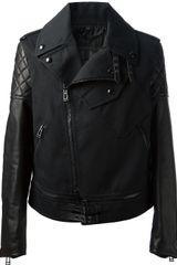 Belstaff Two-tone Biker Jacket - Lyst