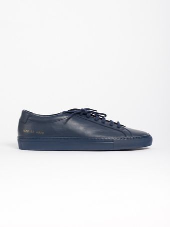 Common Projects Original Achilles Low Navy - Lyst