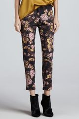 Elizabeth And James Lohmann Floralprint Pants - Lyst