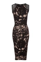 Jane Norman Mesh Bodycon Dress
