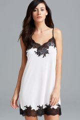 Natori Enchant Chemise with Lace - Lyst
