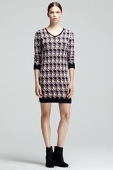 Rag & Bone Mariah Printed Sweater Dress - Lyst