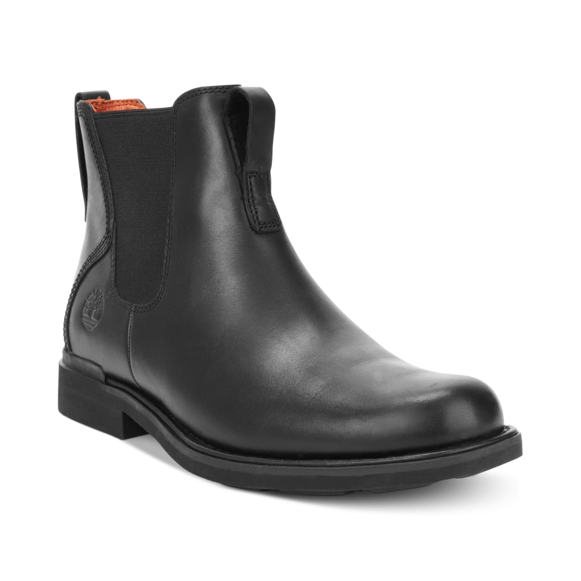 timberland mt washington chelsea boots in black for lyst