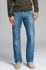 Diesel Jeans Safado Slim Straight Fit in Blue - Lyst