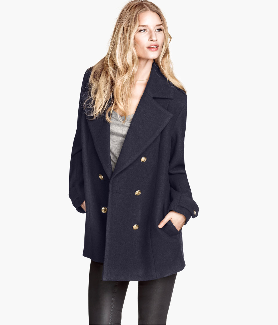 Womens reefer coat