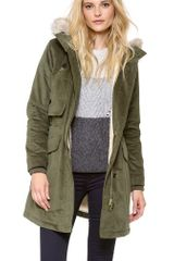 Marc By Marc Jacobs Rainbow Corded Twill Parka - Lyst