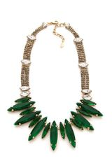 Noir Jewelry Crystal Necklace - Lyst